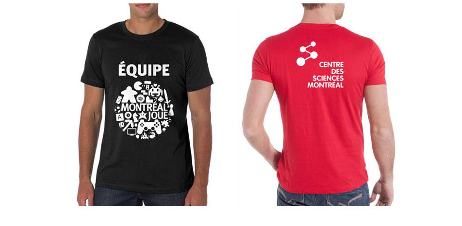 couleurs et marques de t‑shirts. Impression en sérigraphie ... b860915216c9